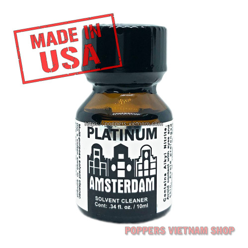 Amsterdam Platinum Poppers 10ml