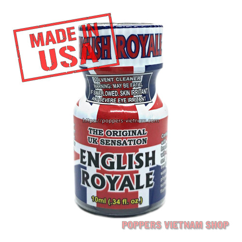 English Royale Poppers 10ml