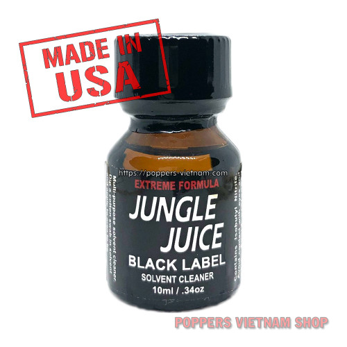 Jungle Juice Black Label Poppers 10ml