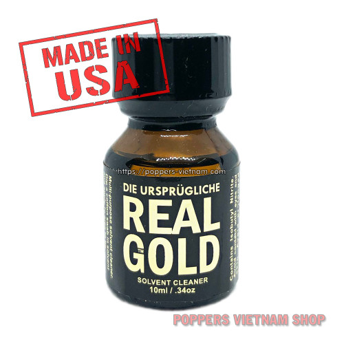 Real Gold Poppers 10ml