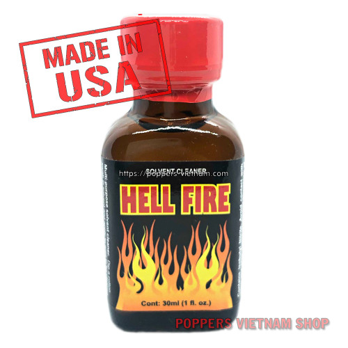 Hell Fire Poppers 30ml